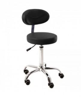 TWIST stool with backrest