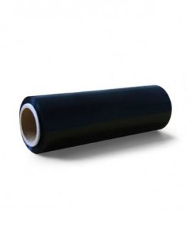Foil stretch BLACK /width 25cm - length 260m/