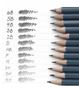Zestaw ołówków /12szt/ 6B-4H
