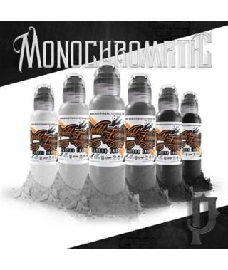 World Famous Ink, Poch\'s Monochromatic Set - 6x30ml - Kwadron Tattoo ...