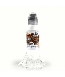 World Famous Ink - Master Mike, China White 30ml