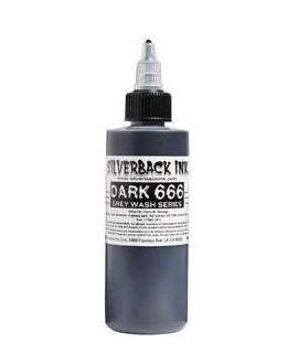 Silverback Ink DARK 666 - 120ml