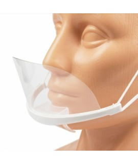 Maska ochronna - makeup transparentna