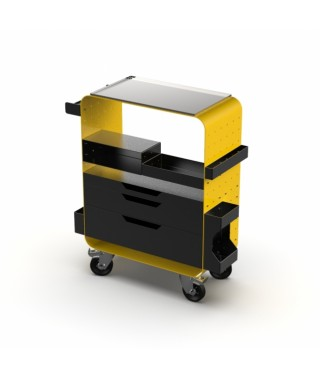 Impala - Work Terminal - Mobilna stacja robocza - modułowa - Yellow