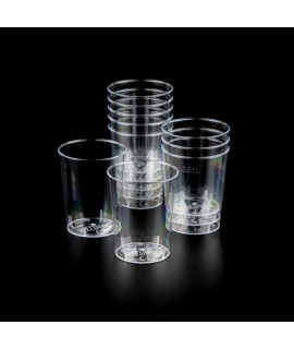 Disposable cups for water - 40ml /50pcs/ CLEAR