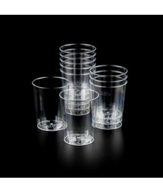 Kubki jednorazowe na wodę - 40ml /50szt/ CLEAR