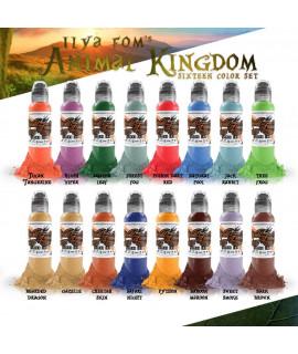 World Famous Ink ILya Foam Animal Kingdom Set 16x30ml
