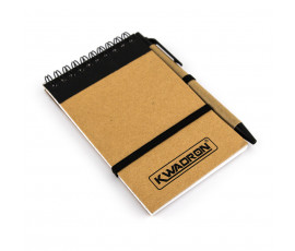 Notebook with pen ECO