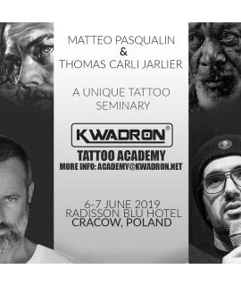 TATTOO SEMINAR 6-7 JUNE 2019 Matteo Pasqualin & Thomas Carli Jarlier