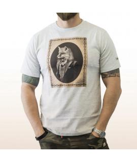 T-shirt PASQUALIN - ROUND Neck Grey