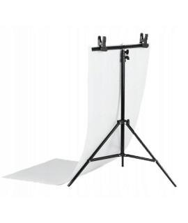 Statyw 200/80cm + tło do zdjęć