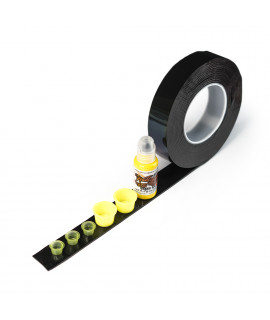 MAGIC TAPE - Double-sided tape for cups BLACK - 5m