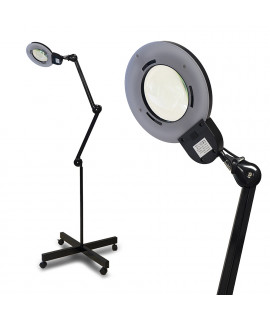 STAND + Lamp Magnifier LED - MONO-LED Black