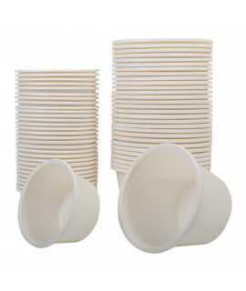 Biodegradable Rinse Cups - 100pcs - 120ml