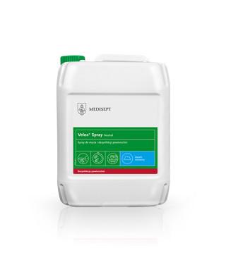 Płyn do dezynfekcji powierzchni MEDISEPT Velox Spray Neutral 5L