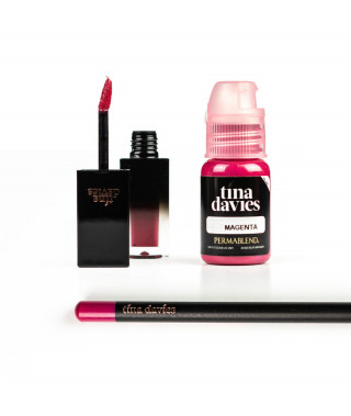 Perma Blend - Tina Davies Envy Lip - MAGENTA Set - Ink+Blush+Pencil