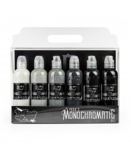 World Famous Ink, Poch's Monochromatic Set - 6x120ml