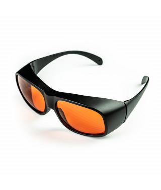 Safety glasses for the operator