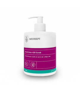 Antibacterial soap MEDISEPT Mediclean 420 Scrub 500ml