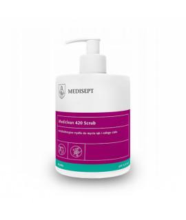 Mydło antybakteryjne MEDISEPT Mediclean 420 Scrub 500ml