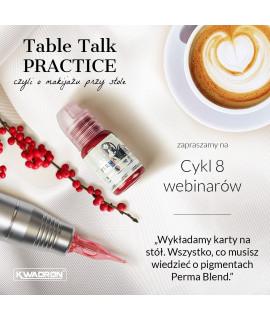 Cykl 8 webinarów Perma Blend - Table Talk PRACTICE