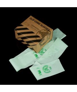 Biodegradable Clip Cord Sleeves 6 x 80cm - 100pcs