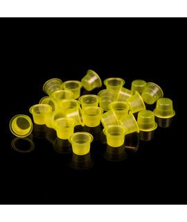 Kubeczki na farbę Clear Yellow /500szt/