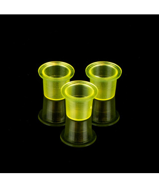 Kubeczki na farbę Clear Yellow - 500 szt