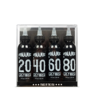 Dynamic Ink Graywash Set 4x120ml
