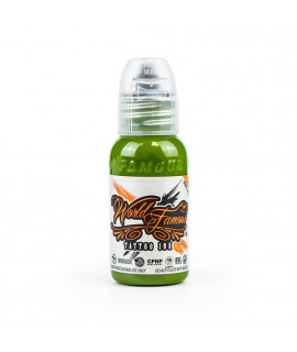 World Famous Ink - Andrey Kolbasin Green Leaf - Willow - 30ml