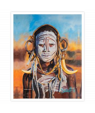 Dmitriy Samohin Print no. 4 - Face