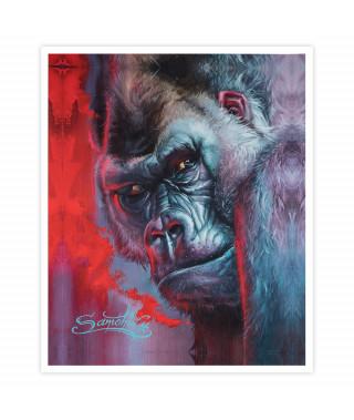 Dmitriy Samohin Print no. 5 - Gorilla