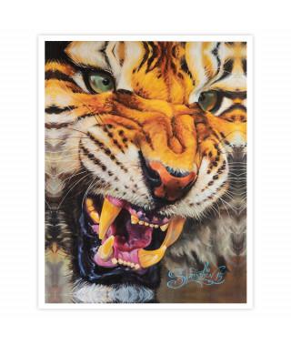 Dmitriy Samohin Print no. 6 - Tiger