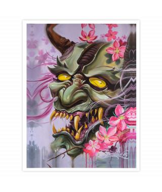 Dmitriy Samohin Print no. 7 - Devil