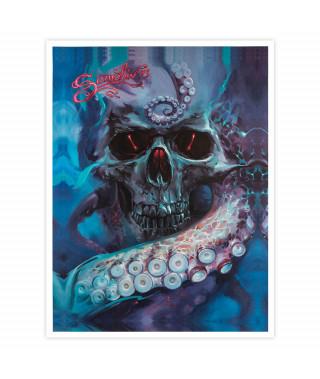 Dmitriy Samohin Print no. 8 - Skull