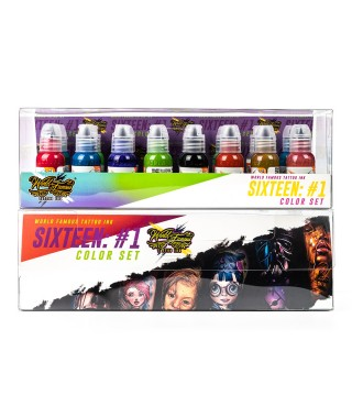 World Famous Primary Color Ink Set 1 16 x 30ml