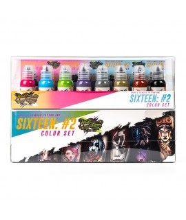 World Famous Primary Color Ink Set 2 16 x 30ml
