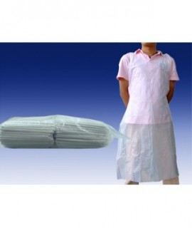 Disposable Apron 100pcs WHITE