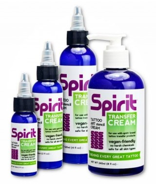 Spirit Transfer Tattoo Cream - do odbijania wzoru